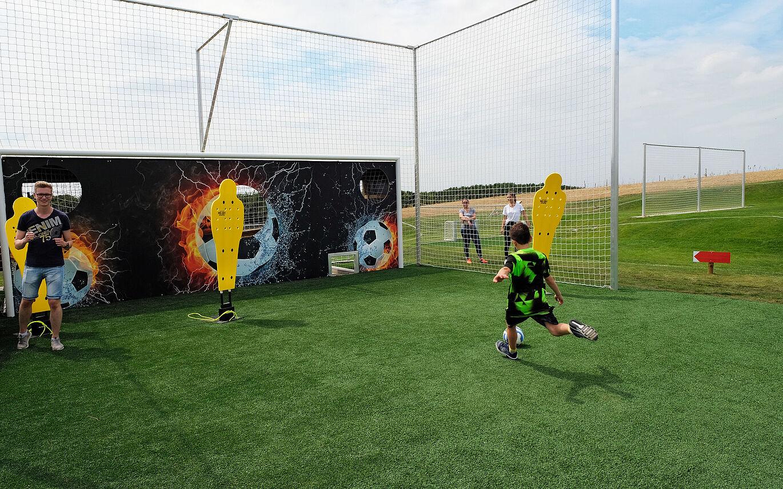 Funfussball Alpenpark Neuss